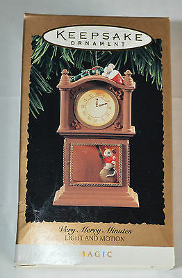 Hallmark Ornament 1994 Very, Merry, Minutes with Light and Motion