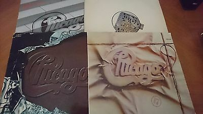 Chicago- Lote Musica 4 Lps Chicago - Rock