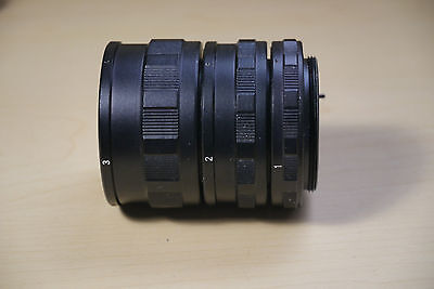 3 tube Auto  adapter for M42mm ( pentax)