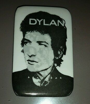 Original 1980's Bob Dylan Biograph Button