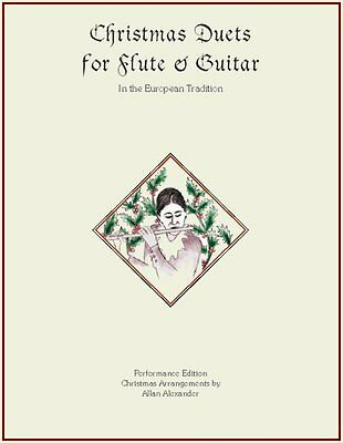 Christmas Music for Flute & Guitar Book/CD