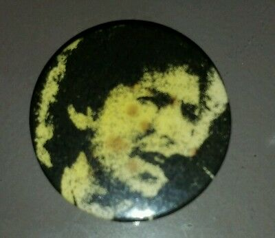Two 1981 Bob Dylan UK Tour Buttons