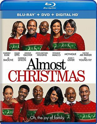 Almost Christmas Blu-ray+DVD+Digital HD Ultraviolet NEW Factory Sealed