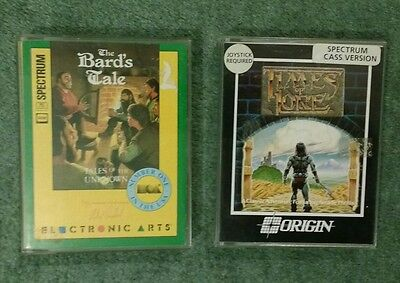 THE BARD'S TALE and TIMES OF LORE role-playing games for Sinclair ZX Spectrum