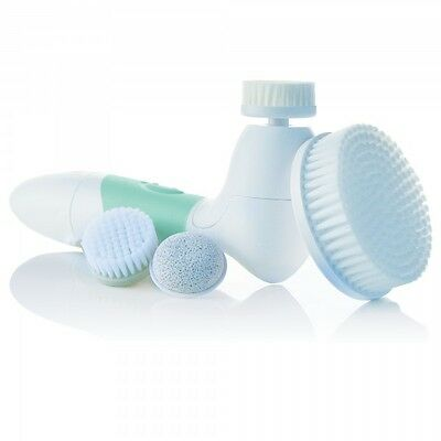Green Spin for Perfect Skin Face Body Cleansing Brush Vanity Planet Vitagoods