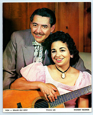 1959-1960 STONEY & WILMA LEE COOPER Vintage GRAND OLE OPRY  Photo COUNTRY MUSIC