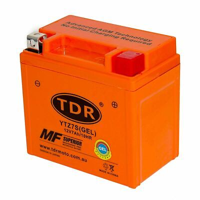 GEL Motorcycle Battery YTZ7S 12V 7Ah Honda Motorbike Scooter ATV Upgrade YTX5L