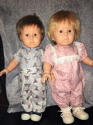 """Berjusa Tammy And Timmy Twin Anatomically Correct Dolls (from Spain) 19"""" Toddler"""