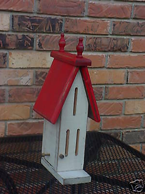 Butterfly House  Made with Eastern Whtie Pine WC390 Wooden Creations
