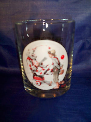 Norman Rockwell Glassware Collection Off-Duty Clown May 18, 1918