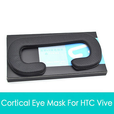 Face Foam Replacement Eye Masks Pad For HTC VIVE Headset VR PU Leather Pad