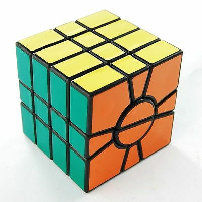 QJ Square One Magic Cube Twisty Puzzle Game Cube Toy Brain Teaser Kids Gift