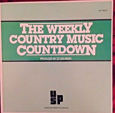 Radio Show: WEEKLY COUNTRY COUNTDOWN 7/25/87 JOHN CONLEE TRIBUTE w/7 INTERVIEWS