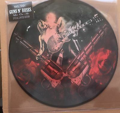 Guns N' Roses - Live On Air  - Rare Picture  Disc LP   Vinyl -  New & Unplayed