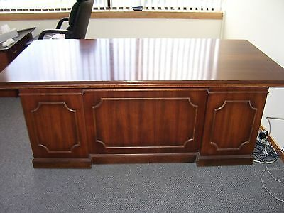 Kimball Desk and Credenza