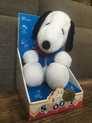 """IRWIN PEANUTS~BOWTIE SNOOPY~8"""" Plush Doll Collector's Edition *NEW"""