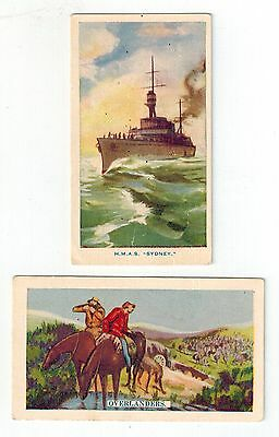 Hoadley's Chocolates - Mixed Series - 2 Collector Cards