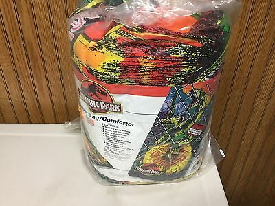 1992 Jurassic park indoor slumber bag/ comforter brand new..LOOK...