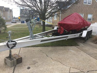2012 Aluminum Boat Trailer, Fits 26Ft~30Ft, Upto 12,400Lbs