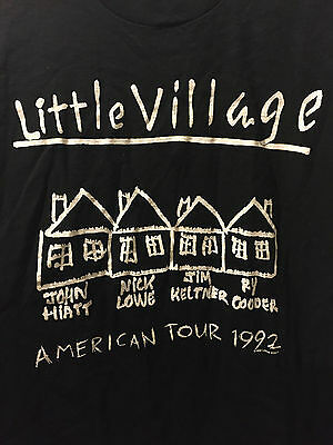 Little Village Concert Tshirt - 1992 *very rare*