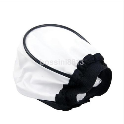 Practical Cloth Universal Soft Flash Bounce Diffuser for Canon Nikon Sony CA