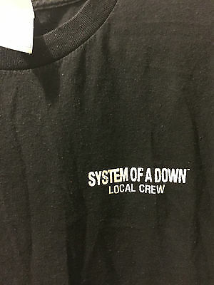 System of a Down Local Crew Tshirt - 90's Vintage Original