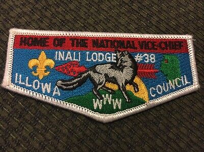 Mint OA Flap Lodge 38 Inali Home of the National Vice Chief Illowa Council