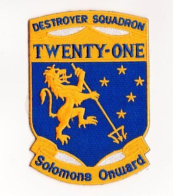 Usn Patch Navy Destroyer Squadron 21