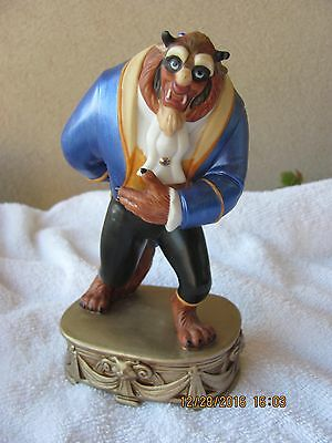 """The BEAST 7 """" tall figurine from Disney Prod. Beauty and the Beast..."""