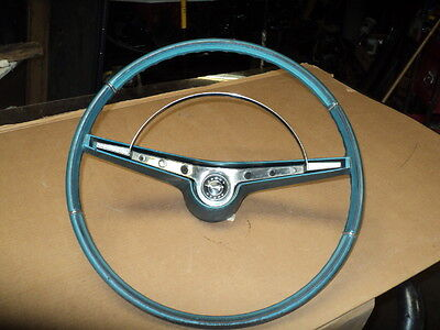1962  IMPALA CHEVY SS   steering wheel & HORN RING , FACTORY ORIGINAL  63