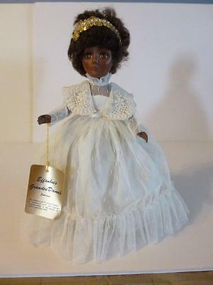 "Effanbee Jacqueline Grandes Dames coll 11"" 1984 Black African American doll"