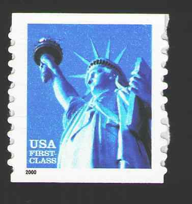 US. 3453. (34c) Liberty Coil Single. Color Variety. MNH. 2000