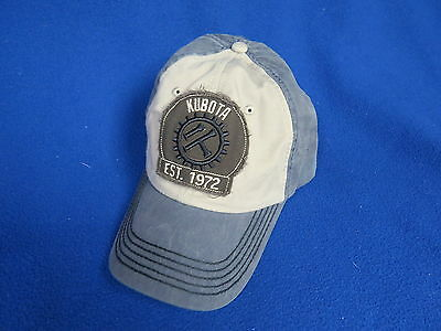 Kubota Innovation  NEW Hat Cap Tractor Construction machinery Industrial engine