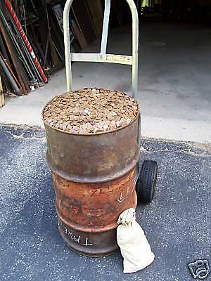 TEN (10) ROLLS (500 pieces) of UNSEARCHED WHEAT CENTS and INDIAN PENNIES