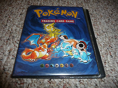 old vintage pokemon album binder official Wotc,show wears,used;see photos