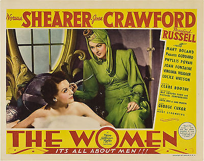 The Women 11 X 14 Lobby Card LC  Joan Crawford Rosalind Russell