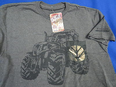 New Holland Agriculture NEW (L) T-Shirt Farm tractor Skid Steer loaders mower