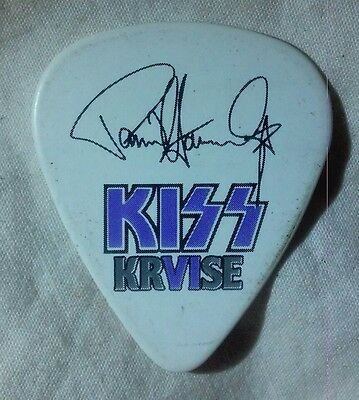 THE KISS KRVISE Paul Stanley signature guitar pick 2016 cruise KRUISE