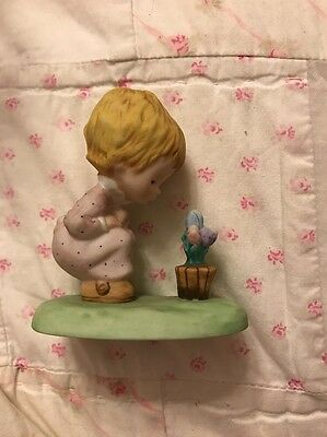 Betsy Clark Figurine Girl With Flowers