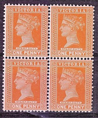 Victoria 1890 SC #169 Beautiful Mint Never Hinged Block of 4, PO Fresh