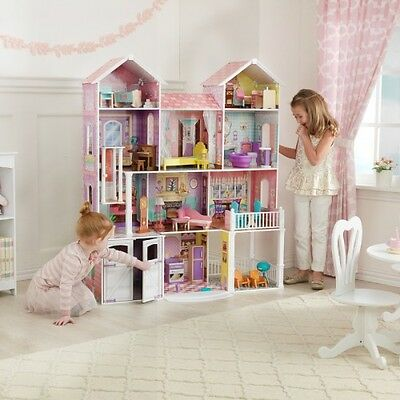 Kidcraft Grand Estate Doll House with 26 Pieces of Furnature