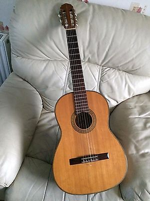 Vintage Oscar Teller Classical Guitar 1967 Hand Made In Germany