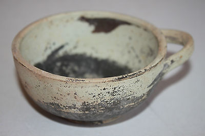 ANCIENT GREEK POTTERY HELLENISTIC DISH CUP 3rd  CENTURY BC