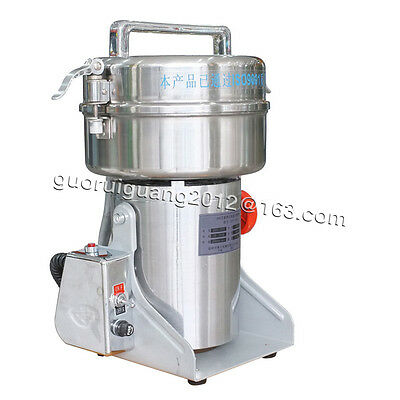 1000g,commercial swing type stainless steel food grinder electric powder machine