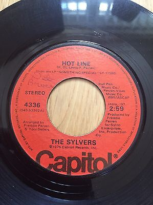 70's Disco Funk The Sylvers Hot Line Northern Soul Capitol
