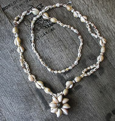 """Shell Necklace, 38"""""""