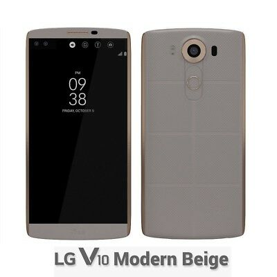 """5,7"""" 64GB+4GB LG V10 H900 4G LTE Android Smartphone Móvil Libre 16MP+ Accesorios"""