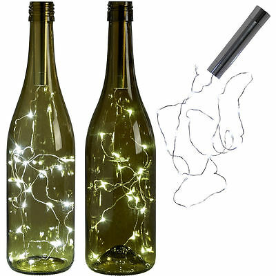 Charming Cork Shaped LED Night Light Starry Light Wine Bottle Lamp party Decor