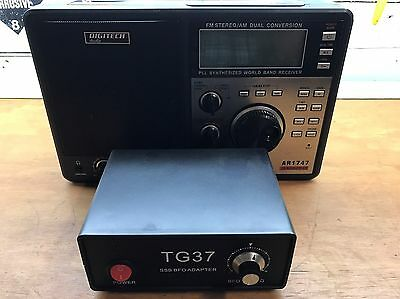 Digitech AR1747 Communications Receiver with TG37 SSB Adapter.
