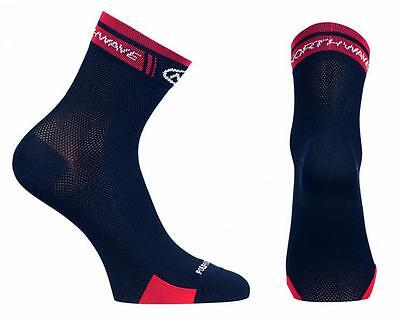 NORTHWAVE Calcetines ciclismo hombre LOGO HIGH negro/rojo